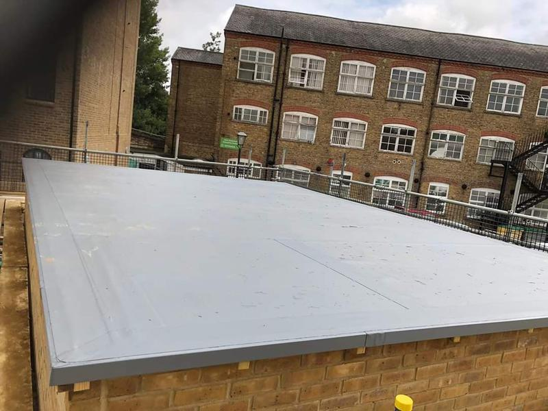 Image 18 - Single ply roof