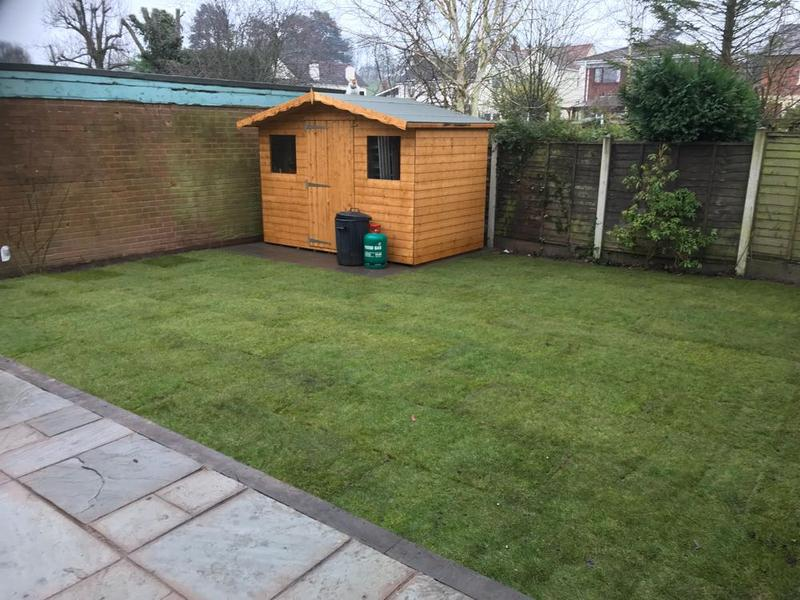 Image 61 - new lawn and shed