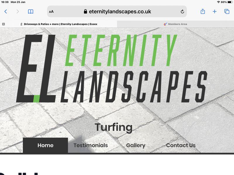 Eternity Landscapes logo