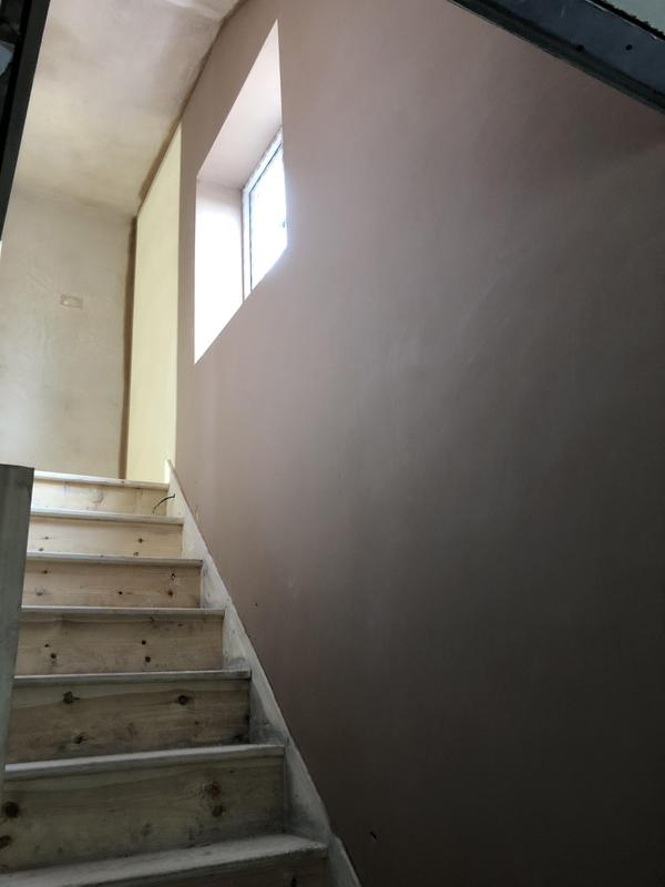 Image 4 - plastering stair well