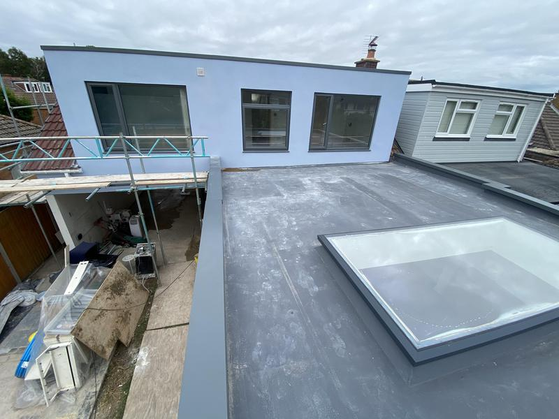 Image 85 - Huge flat skylight