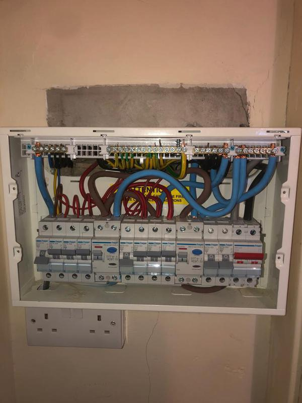 Image 8 - New consumer unit from EICR report
