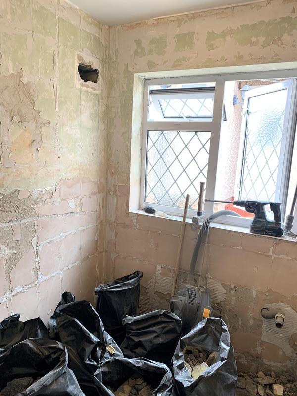 Image 41 - BEFORE. Dartford Bathroom Renovation