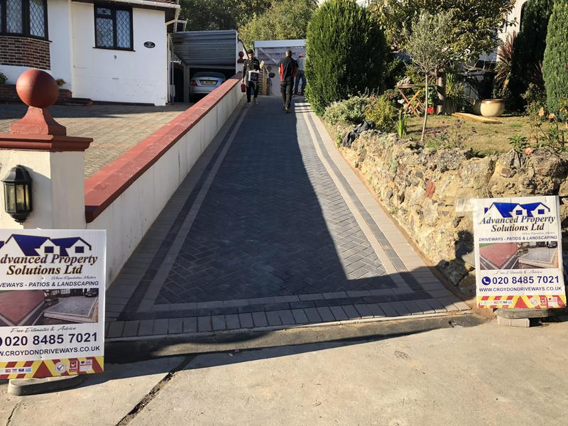 Image 19 - Driveway charcoal light grey