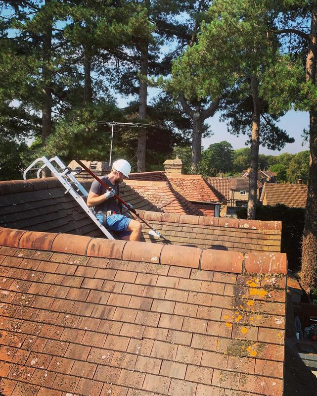 Image 21 - Roof cleaning