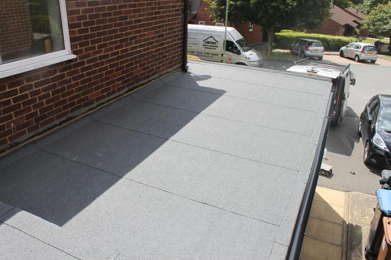 Image 28 - New Felt Flat roof completed
