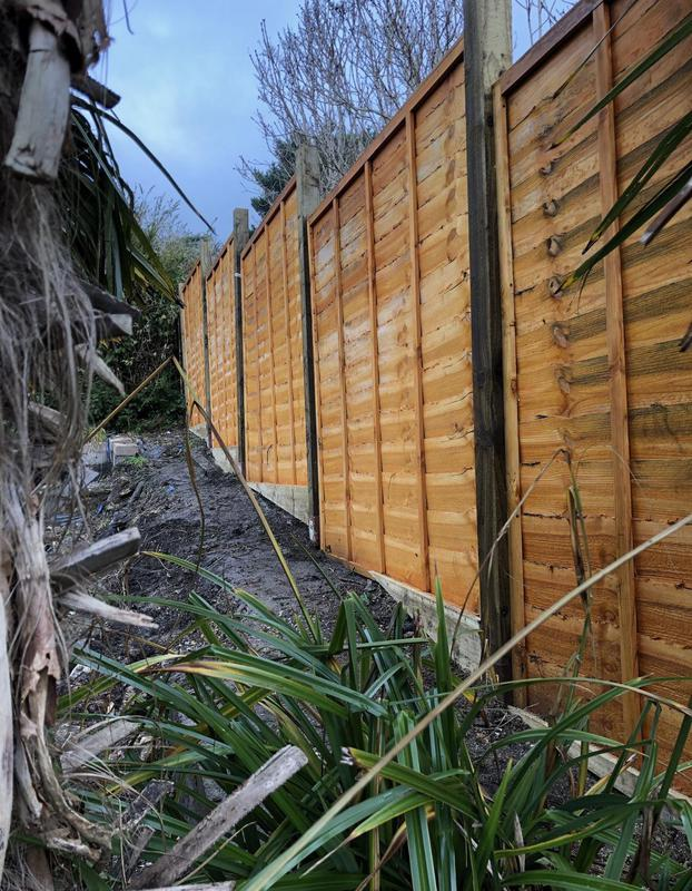 Image 17 - New fencing after recent storms