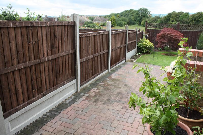 Image 2 - Fencing installation with gravel boards to suit levels.