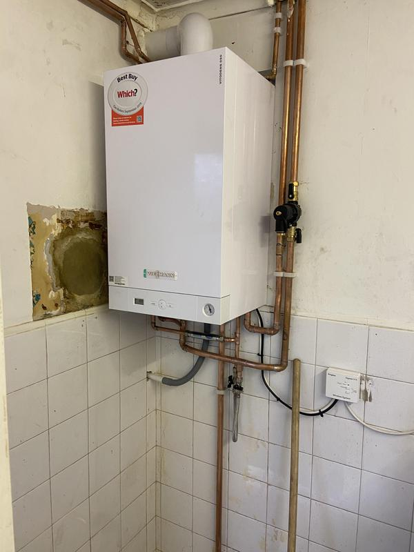 Image 12 - New 35 kw Viessmann combination boiler installation 7 years warranty 7 years FREE services included