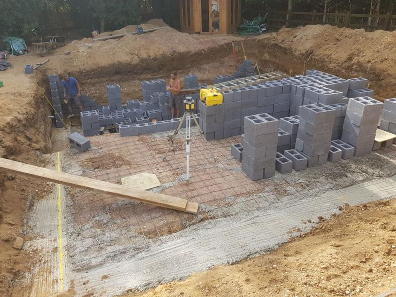 Image 151 - construction of swimming pool