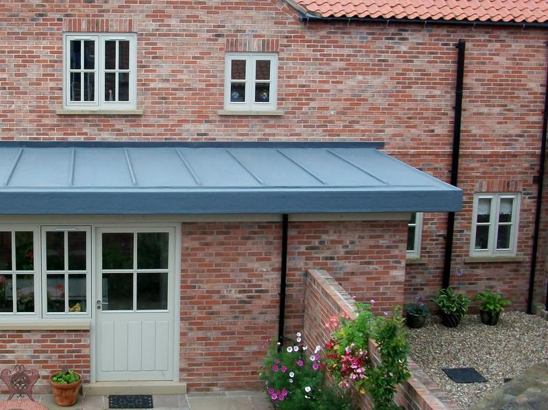 Image 23 - Simulated Lead GRP / Fibre Glass Roof 30 Year Guarantee
