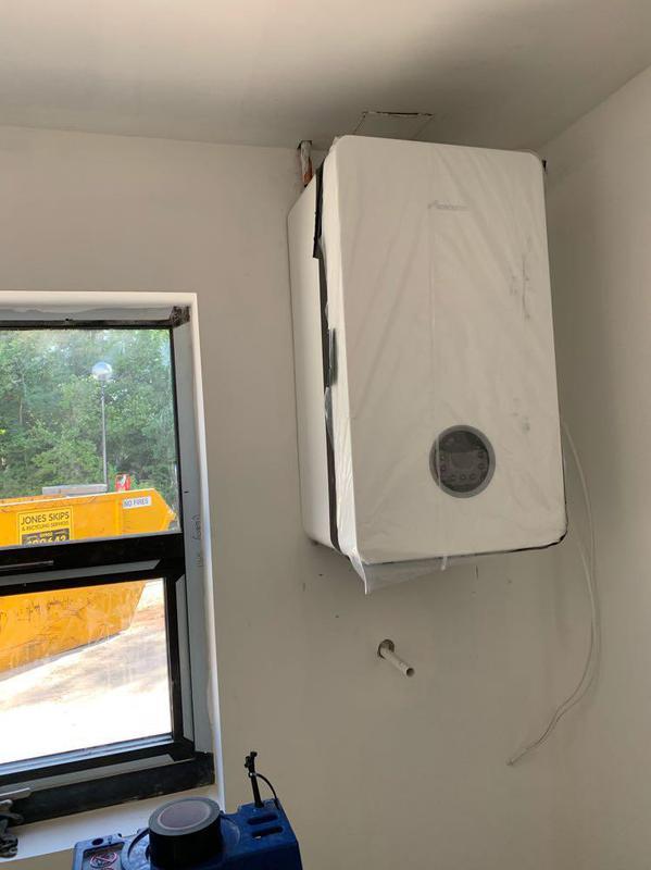 Image 22 - New build installation-Worcester Bosch 8000Lite 35kw