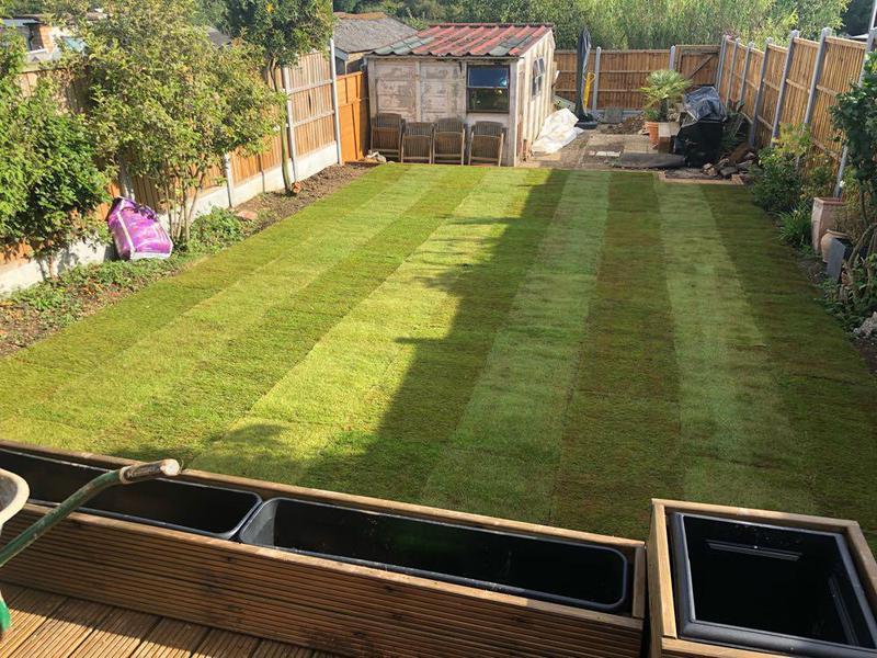 Image 34 - Re-turf (grass)