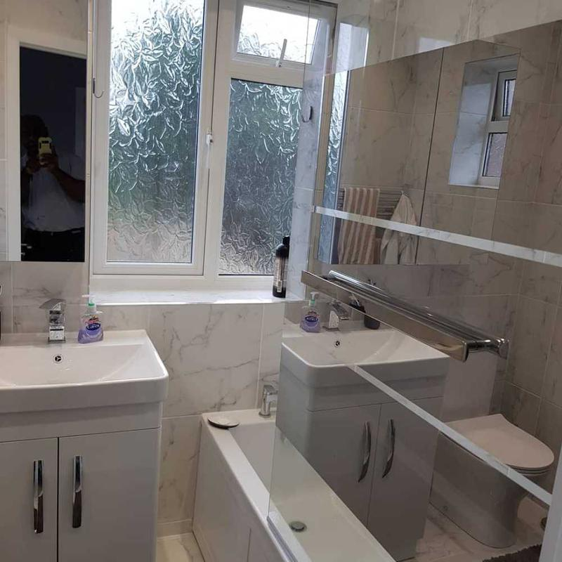 Image 47 - Bathroom renovation