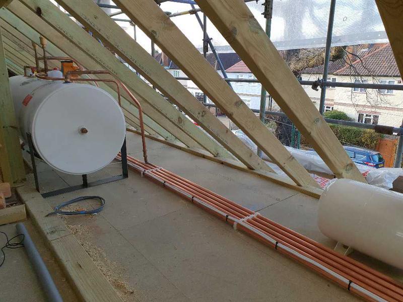 Image 3 - Boiler and horizontal unvented cylinder installation, Twickenham #5.