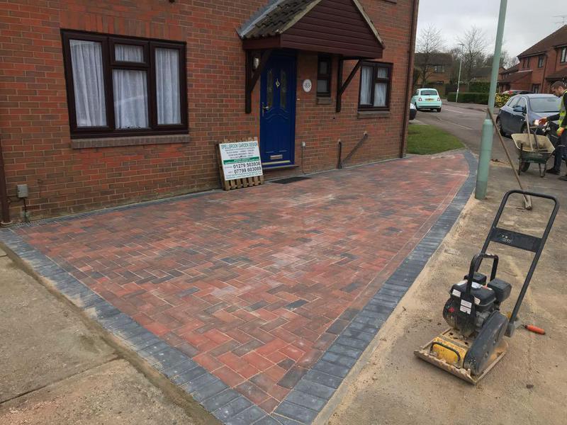 Image 92 - Block paving in Bishops Stortford