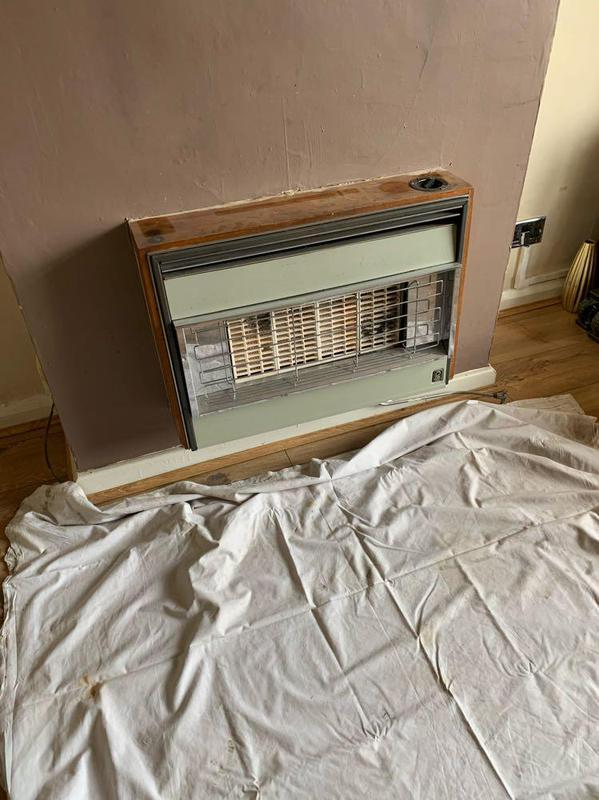 Image 45 - Radiant gas fire removal