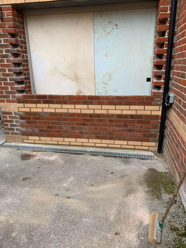 Image 1 - Start of garage conversion