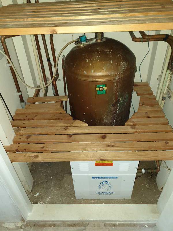 Image 25 - Megaflo unvented hot water heater installation, Weybridge. #1.