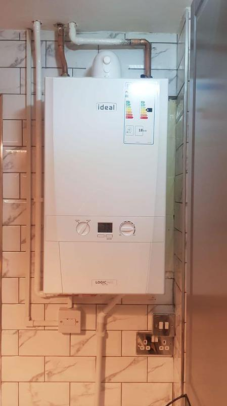Image 54 - Installation of Ideal Logic Heat 24