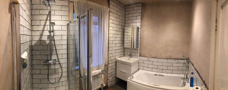 Image 9 - New bathroom installation floor & wall tiling