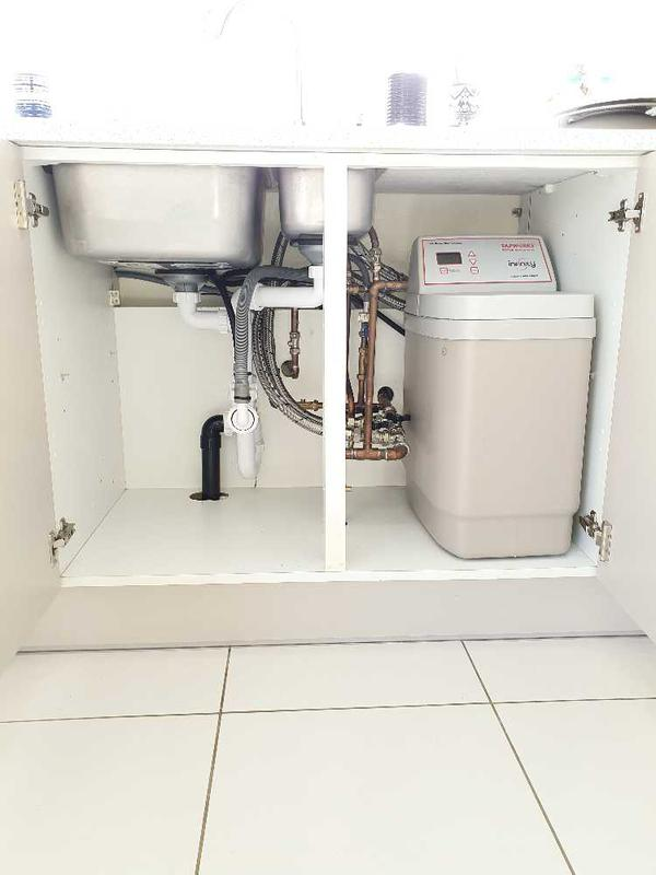 Image 2 - Water softener installation at Shefford