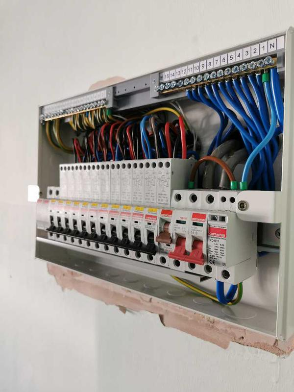 Image 9 - Consumer unit replacement with RCBOs and Surge protection