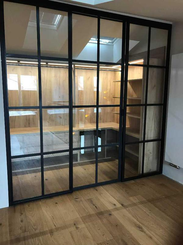Image 15 - Very fashionable now...loft style partition walls/doors.