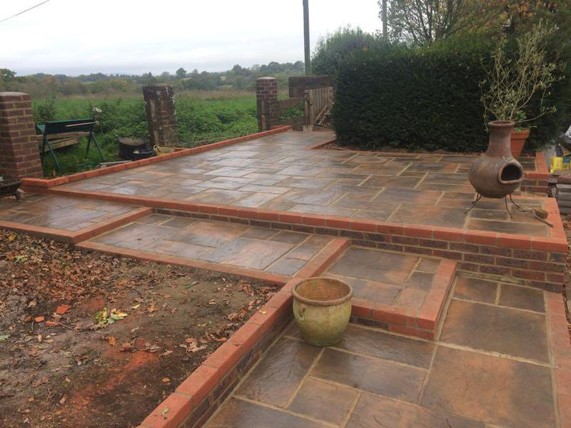 Image 45 - Patio and landscaping in Storrington Sussex