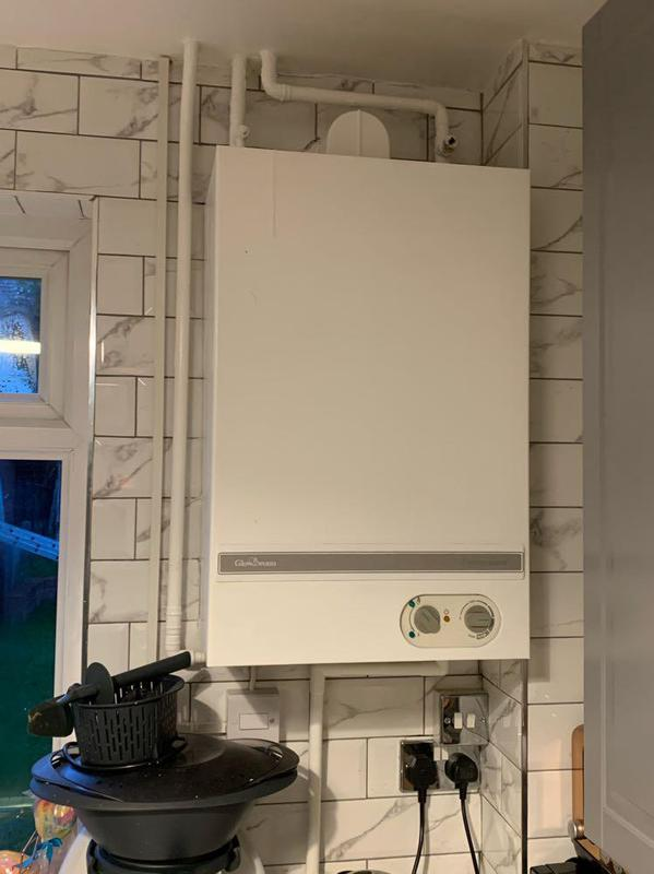 Image 55 - Removal of faulty conventional boiler