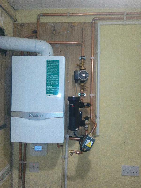 Image 18 - New Convential boiler Installation