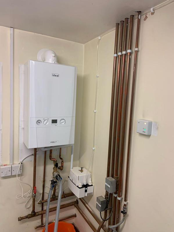 Image 8 - A nice new efficient boiler, with Hive Smart Heating controls.