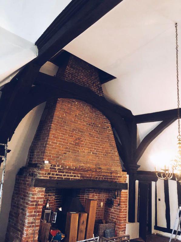 Image 23 - Some lovely oak beams I have restored
