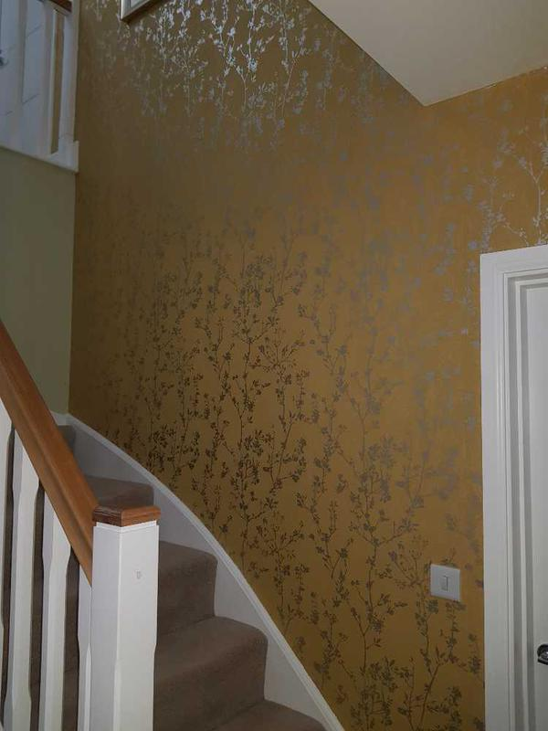 Image 78 - staircase papered