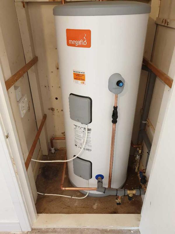Image 23 - Megaflo unvented hot water heater installation, Weybridge. #3.