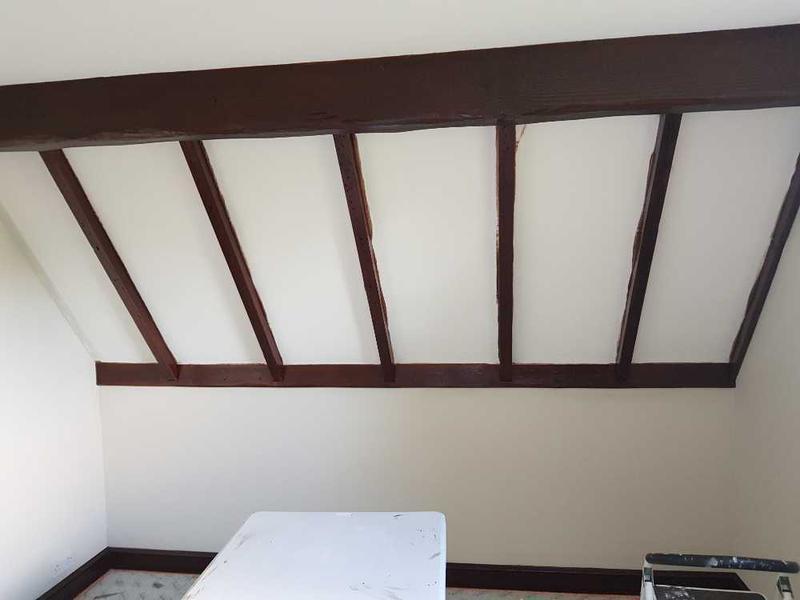 Image 28 - Before - old cottage bedroom