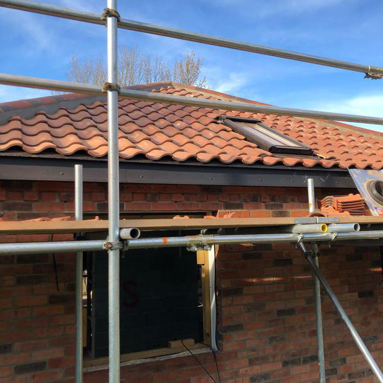 Image 13 - Re-roof on new workshop-very happy customer