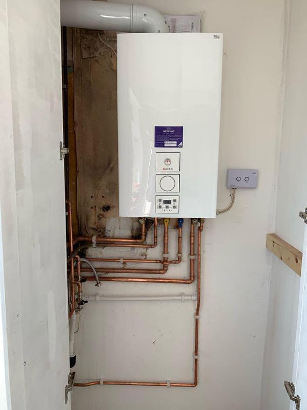 Image 50 - Landlord Biasi installation