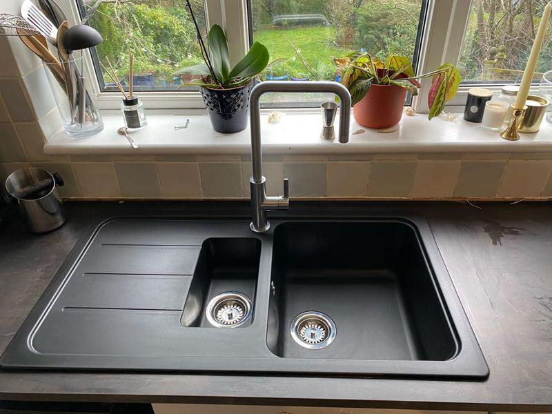 Image 1 - A new Sink and Mixer tap install for a customer