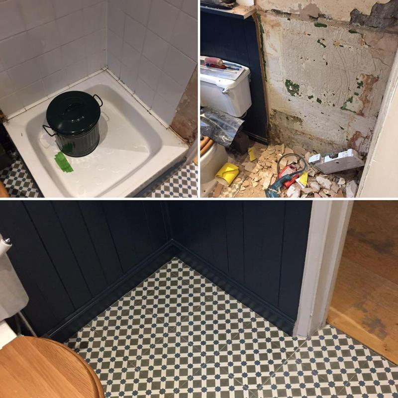 Image 26 - Handy Gentlemen bathroom revamp Clapham