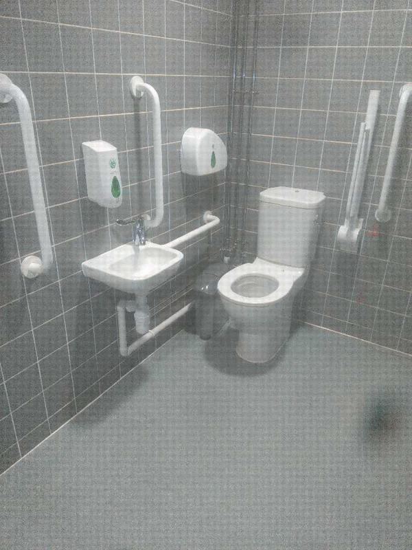 Image 5 - Disabled toilet Installation