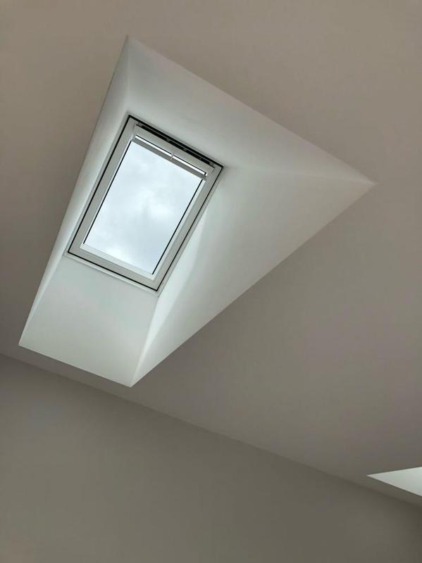 Image 31 - new velux window detail to hobby room in out house conversion