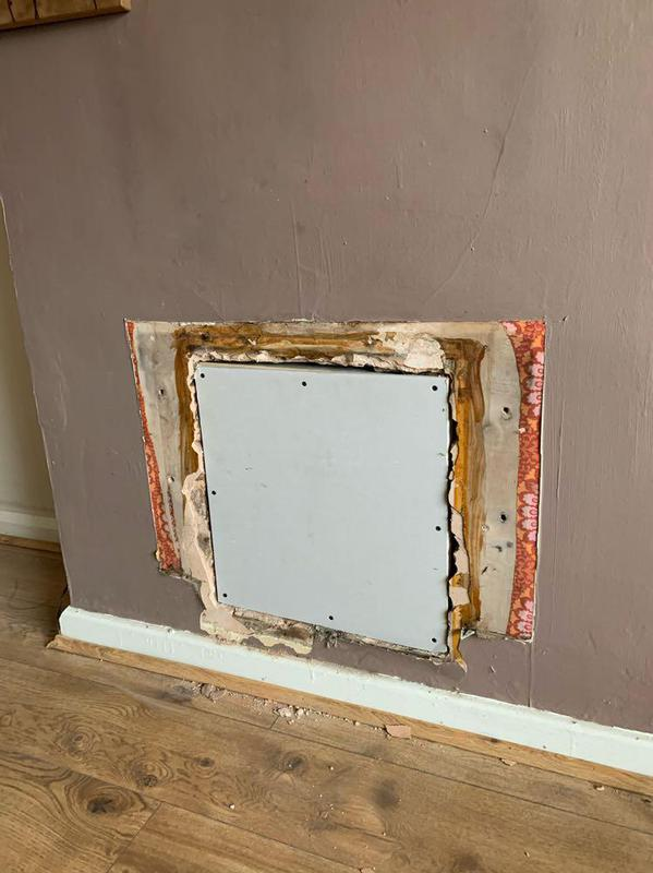 Image 43 - Plasterboard in preperation for plastering/skimming