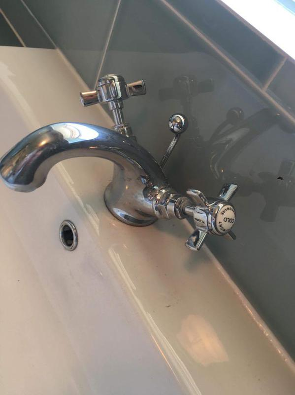 Image 40 - New sink and taps