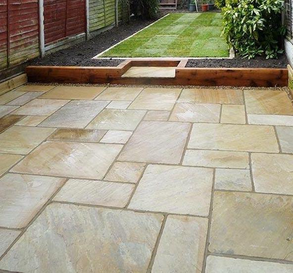 Image 12 - Landscaped Garden, new patio, flower beds, real turf