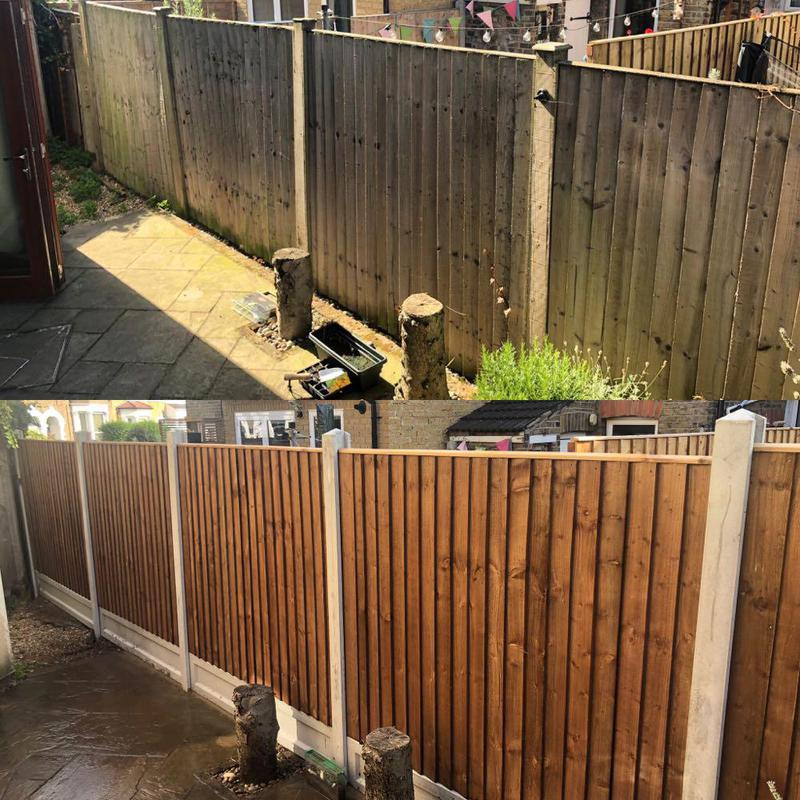 Image 37 - Before & After (fencing)