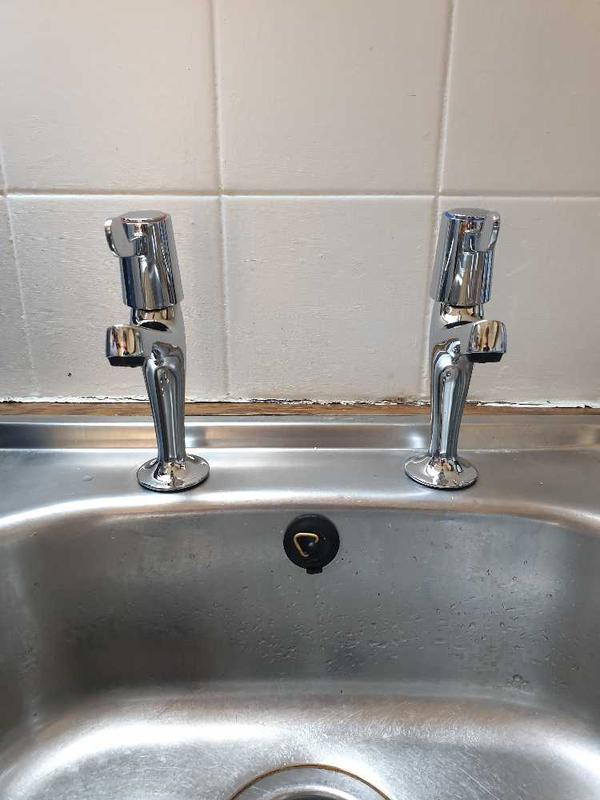 Image 33 - Tap set replacement, Staines.