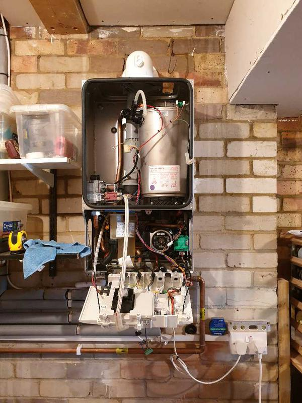 Image 27 - Gas combination boiler removal and repairs, Sunbury #2.