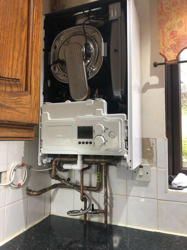 Image 14 - Heating pack and new boiler.