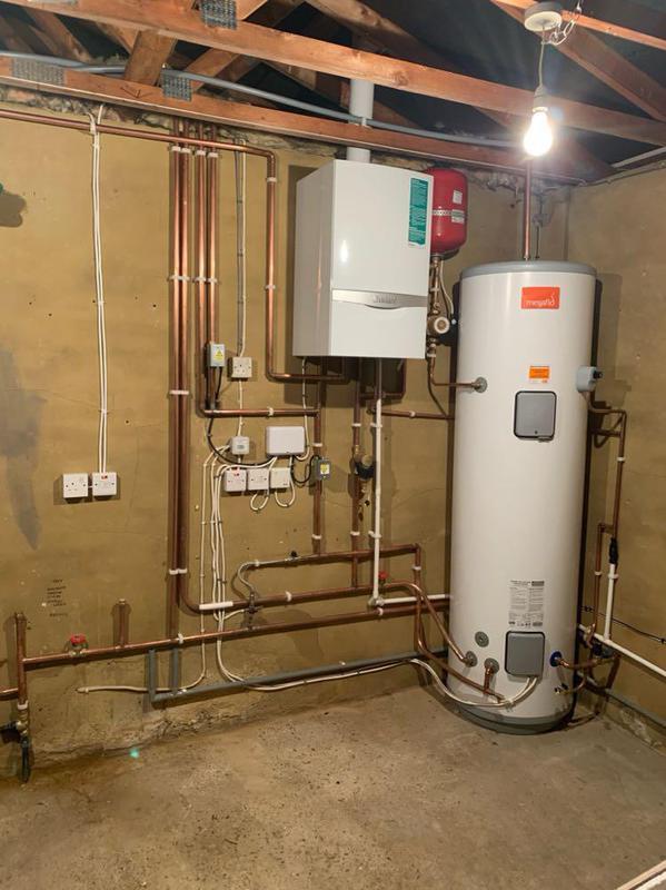Image 12 - New boiler and Megaflo installation